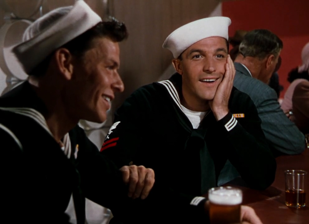 Gene Kelly and Frank Sinatra in Anchors Aweigh (1945)