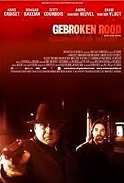 Gebroken rood Poster