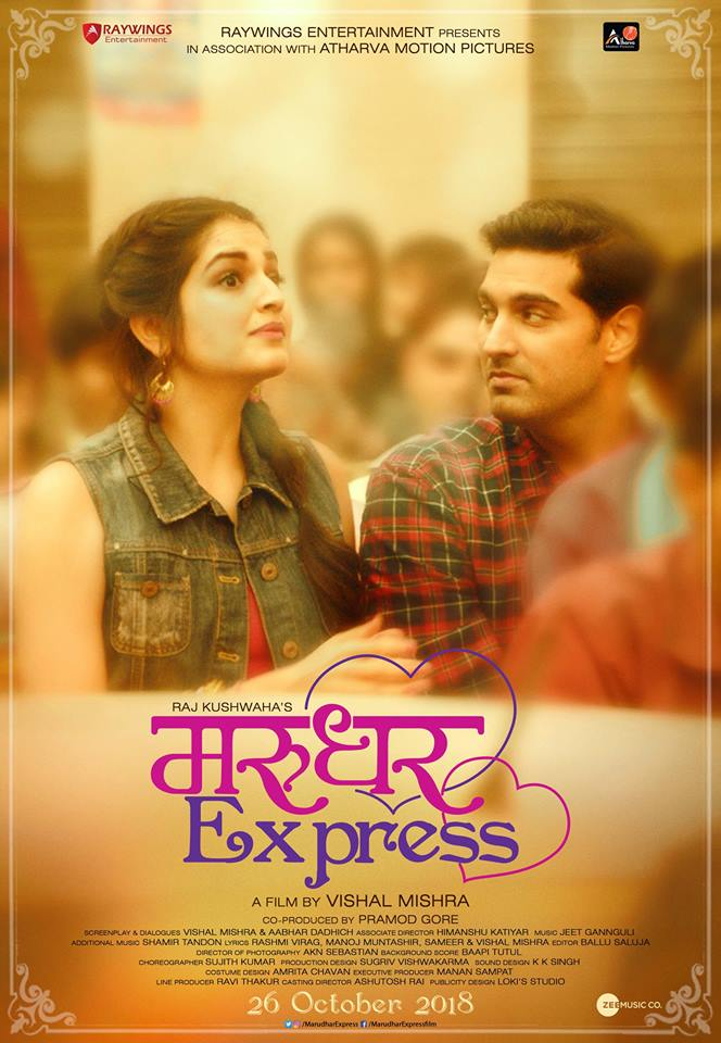 Marudhar Express 2019 Hindi Movie 720p HDRip 700MB