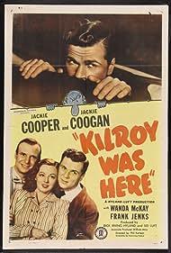 Jackie Coogan, Jackie Cooper, and Wanda McKay in Kilroy Was Here (1947)