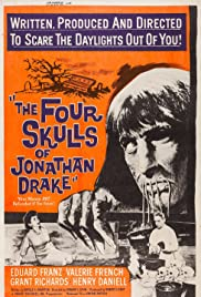 The Four Skulls of Jonathan Drake Poster