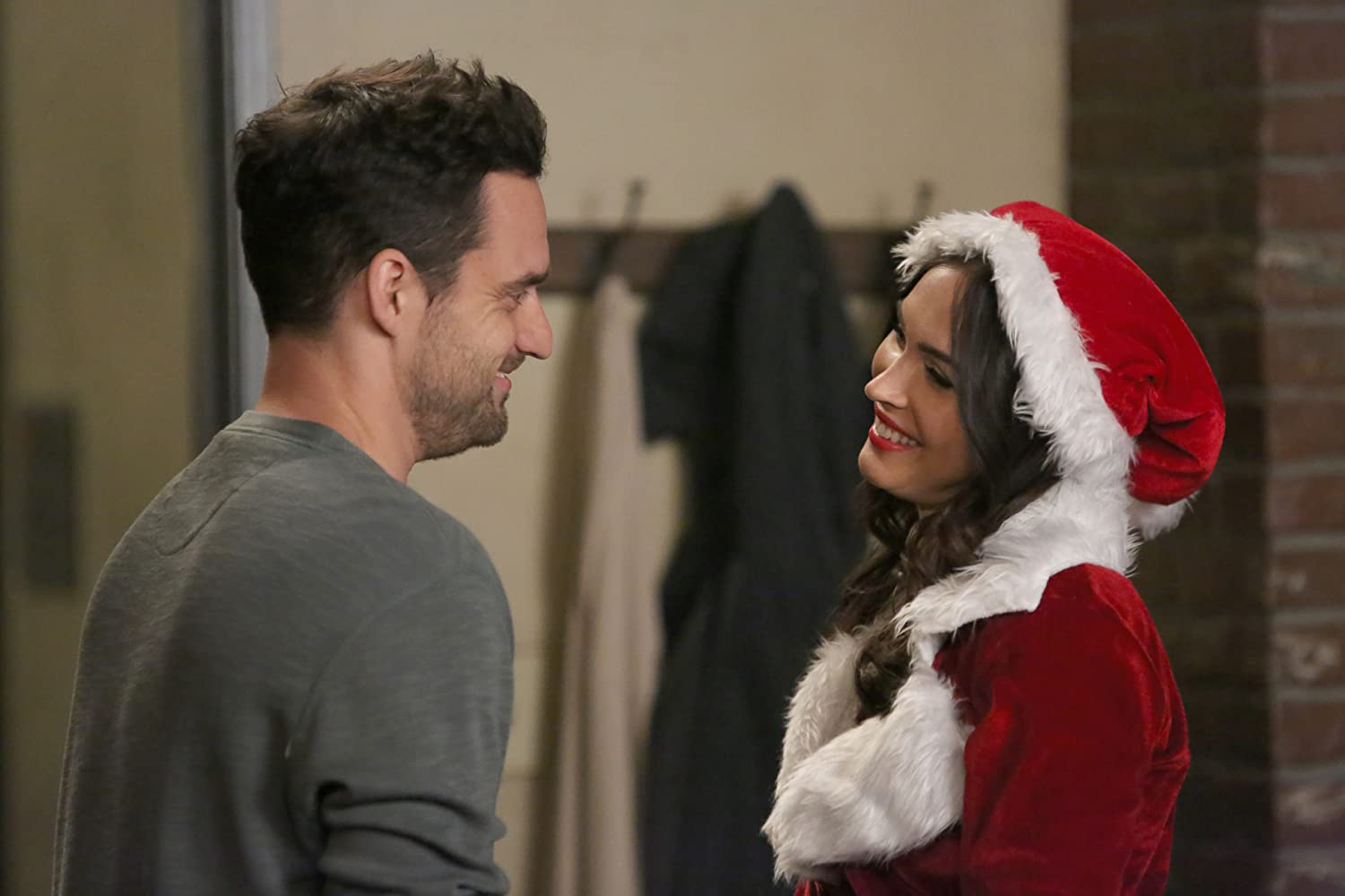 Megan Fox and Jake Johnson in New Girl (2011)