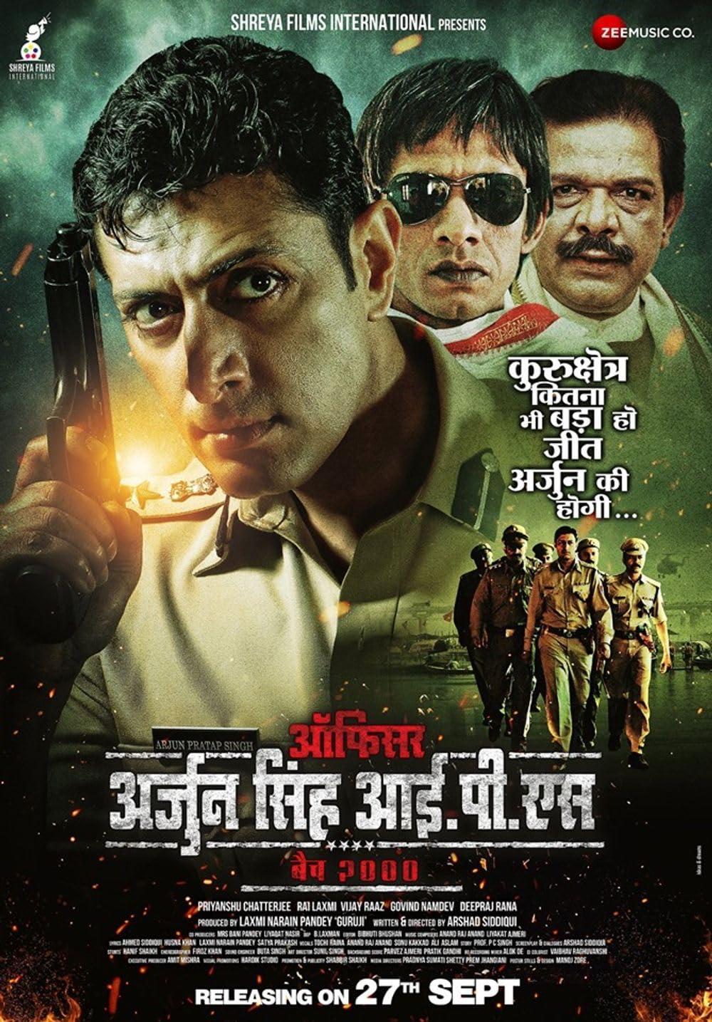 Officer Arjun Singh IPS 2019 Hindi 720p HEVC HDRip x265 AAC Full Bollywood Movie [500MB]