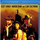 Clint Eastwood, Scott Brady, and Margia Dean in Ambush at Cimarron Pass (1958)