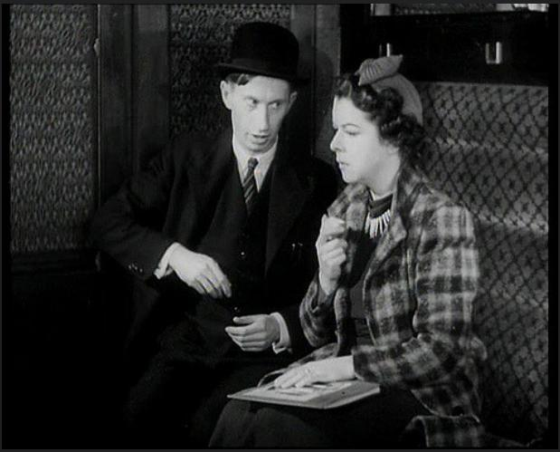 Betty Jardine and Stuart Latham in The Ghost Train (1941)