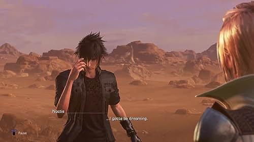 Dissidia Final Fantasy NT: A Princely Welcome Cutscene Trailer (English Subtitled)
