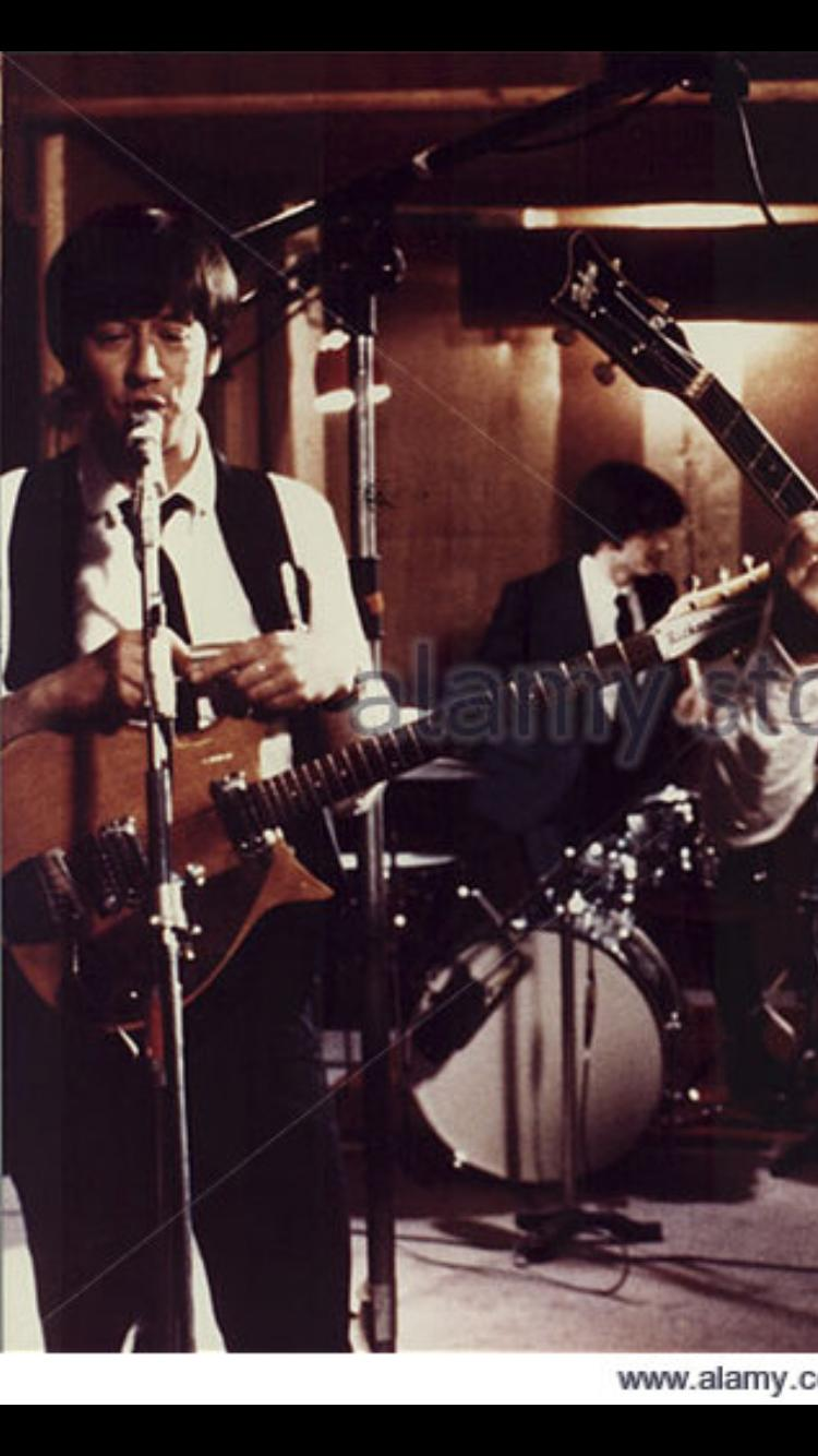 Ray Ashcroft and Stephen MacKenna in Birth of the Beatles (1979)