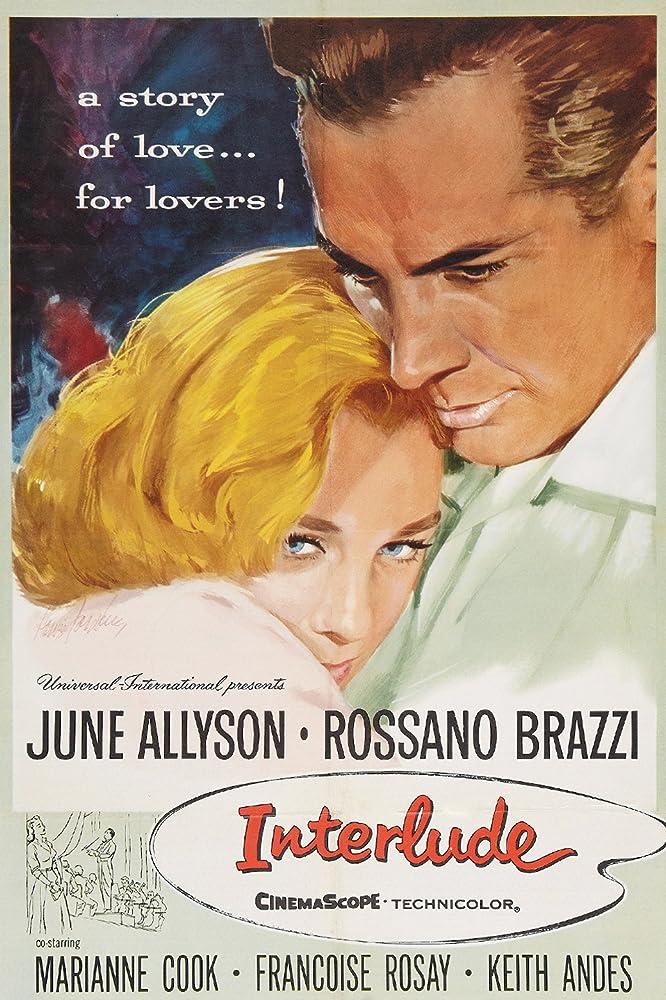 June Allyson and Rossano Brazzi in Interlude (1957)