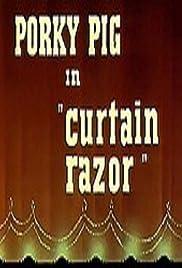 Curtain Razor Poster