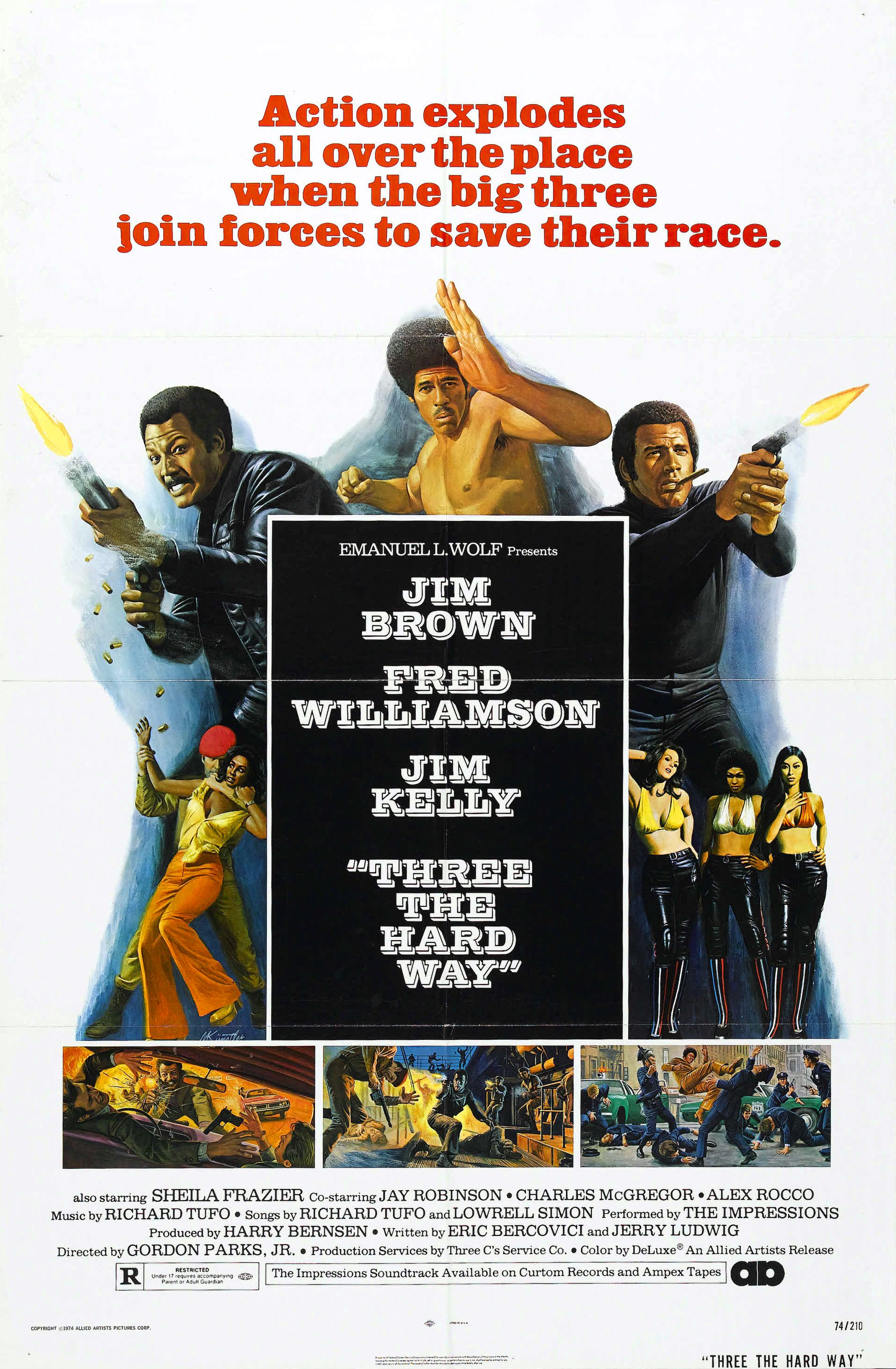Three the Hard Way (1974) - IMDb