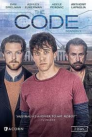 Paul Tassone and Ashley Zukerman in The Code (2014)