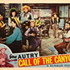 Gene Autry, Joy Barlow, Muriel Barr, June Earle, John Holland, Dorothea Kent, Cliff Nazarro, Jeanne Strasser, Ruth Terry, and Jean Lucius in Call of the Canyon (1942)