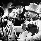 Harry Carey, Hoot Gibson, Frank Rice, Bob Steele, and Guinn 'Big Boy' Williams in Powdersmoke Range (1935)