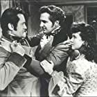 Vincent Price, George Sanders, and Margaret Lindsay in The House of the Seven Gables (1940)