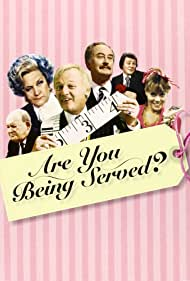 Trevor Bannister, Arthur Brough, John Inman, Wendy Richard, Mollie Sugden, and Frank Thornton in Are You Being Served? (1972)