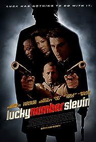 Morgan Freeman, Bruce Willis, Josh Hartnett, and Lucy Liu in Lucky Number Slevin (2006)