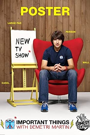Where to stream Important Things with Demetri Martin