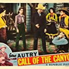 Gene Autry, Muriel Barr, John Holland, Dorothea Kent, Cliff Nazarro, and Ruth Terry in Call of the Canyon (1942)