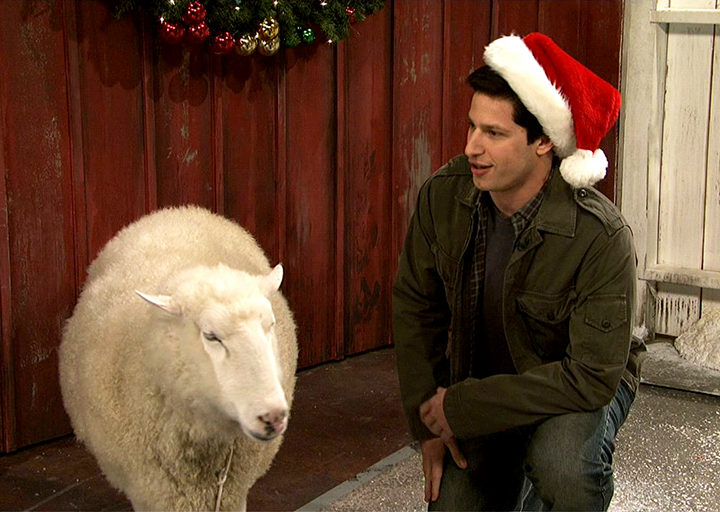 mark wahlberg talks to christmas animals i like your stick hands i have - John Malkovich Snl Christmas