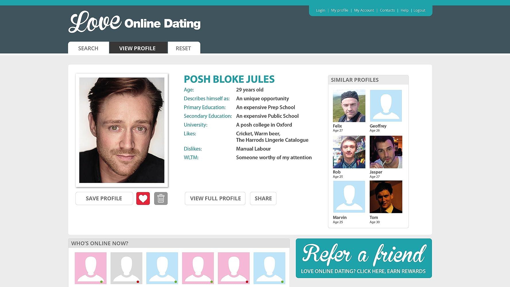 wltm dating Speed Dating Dublin recensioner