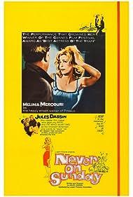 Melina Mercouri in Pote tin Kyriaki (1960)