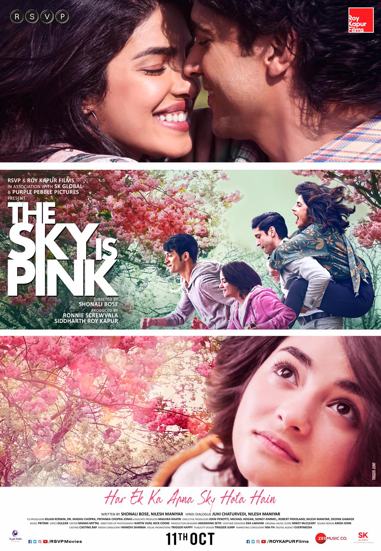 The Sky Is Pink (2019) WEBRip 1080p 10bit HEVC Hindi DD 5.1 H265 ESubs ~RONIN~ | G- Drive | 2.90 GB |