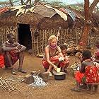 Nina Hoss, Jacky Ido, and Helen Namaso Lenamarken in Die weiße Massai (2005)