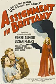 Jean-Pierre Aumont and Susan Peters in Assignment in Brittany (1943)