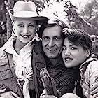 Joseph Bologna, Kimiko Gelman, and Bridget Michele in Rags to Riches (1987)