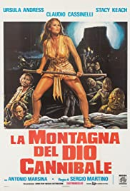 The Mountain of the Cannibal God Poster