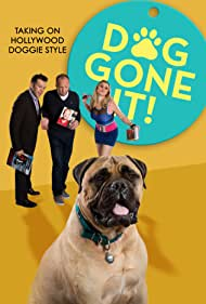 Fiona Bates, George Cisneros, Larry Blackman, and Giovanni the Dog in DogGone It! (2017)