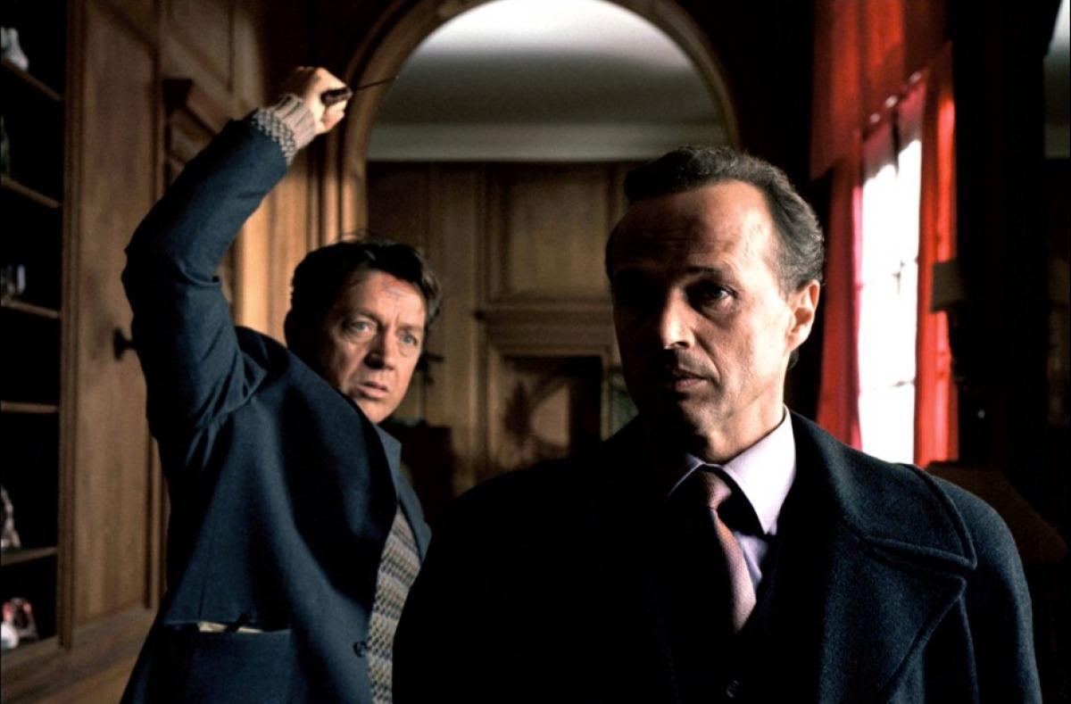Bernard Giraudeau and Laurent Malet in Ce jour-là (2003)