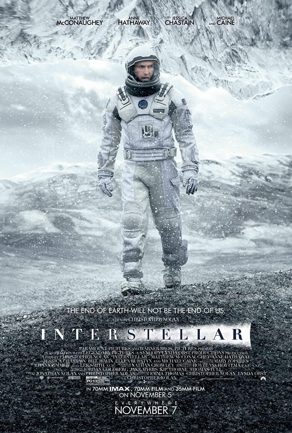 Interstellar 2014 IMAX Hindi ORG Dual Audio 480p BluRay ESub 604MB Download