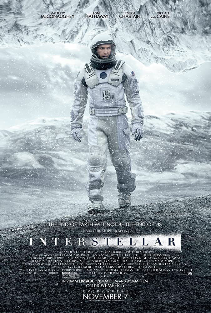 Interstellar (2014) BluRay – 720p – x264 – [Hindi (Fan Dub) + English]