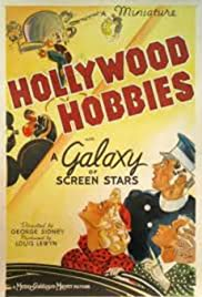 Hollywood Hobbies Poster