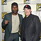 Kevin Feige and Mahershala Ali at an event for Blade