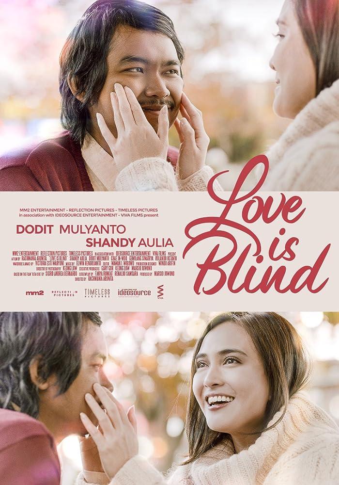Hasil gambar untuk poster film cinta itu buta
