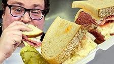 Silvermania Sandwich Review at Tony P's Deli