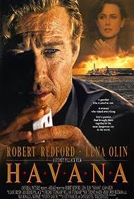 Lena Olin and Robert Redford in Havana (1990)