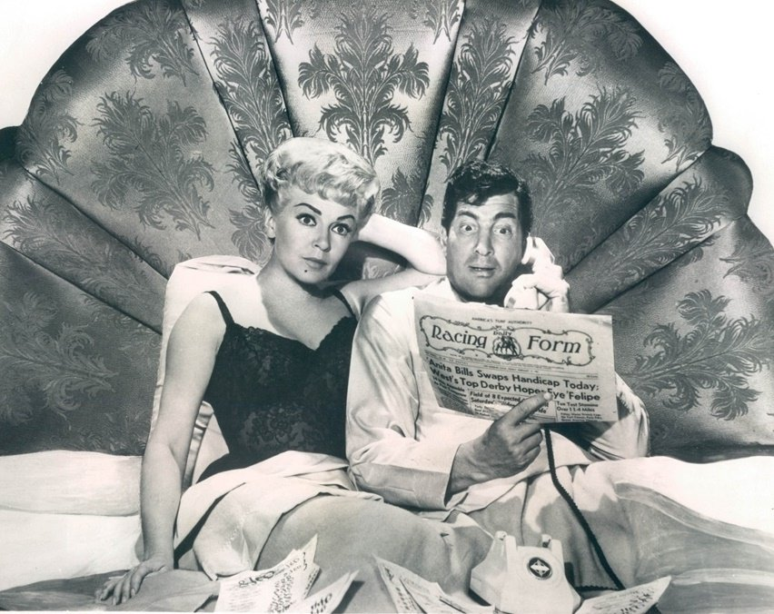 Dean Martin and Lana Turner in Who's Got the Action? (1962)