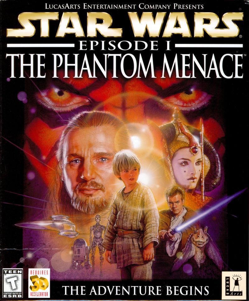 Star Wars Episode I The Phantom Menace Video Game 1999 Imdb
