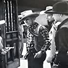 William Boyd, Andy Clyde, Claudia Drake, and Jay Kirby in Border Patrol (1943)