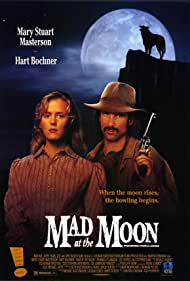 Mary Stuart Masterson and Hart Bochner in Mad at the Moon (1992)