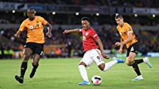 Wolverhampton Wanderers contro Manchester United