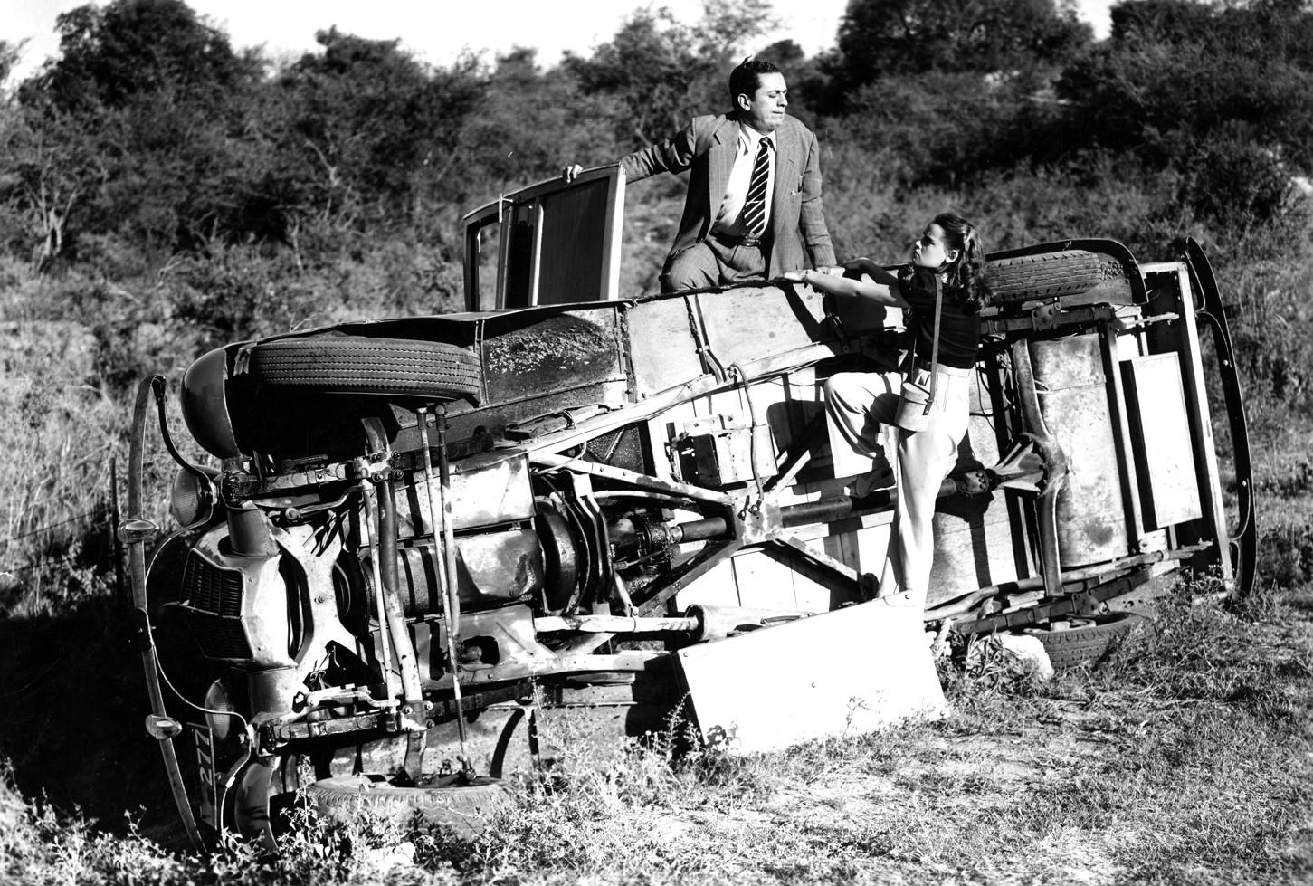 Susana Freyre and Juan Carlos Thorry in Con el diablo en el cuerpo (1947)