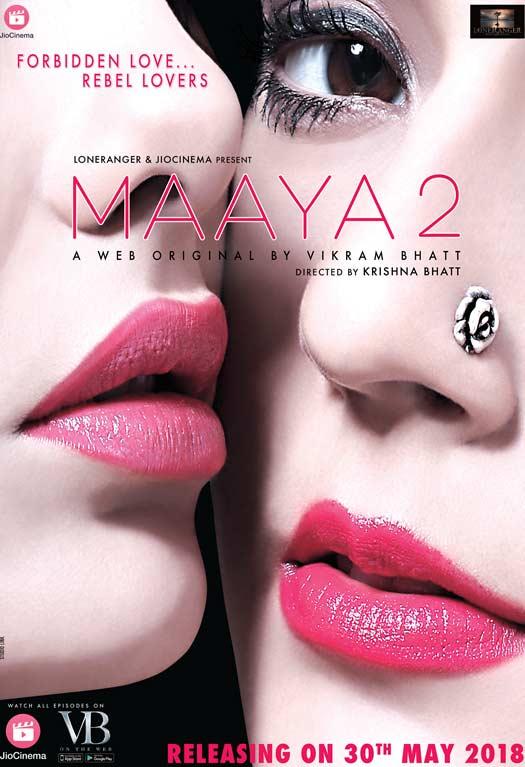 Leena Jumani and Priyal Gor in Maaya 2 (2018)