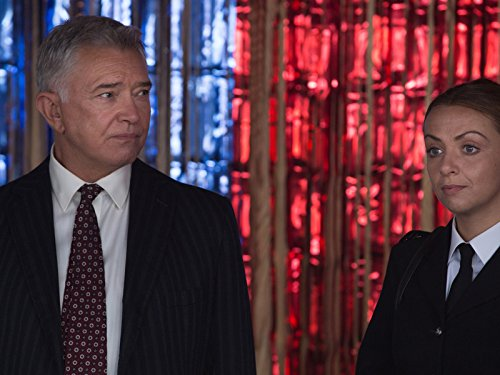 Martin Shaw and Lisa McGrillis in Inspector George Gently (2007)