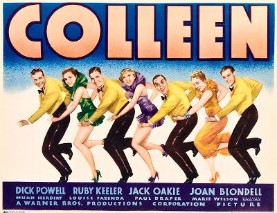 Joan Blondell, Hugh Herbert, Paul Draper, Louise Fazenda, Ruby Keeler, Jack Oakie, and Dick Powell in Colleen (1936)