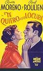 Te quiero con locura (1935) Poster