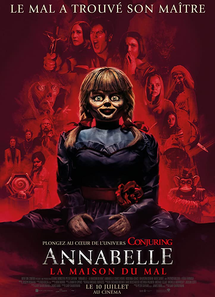 Annabelle Comes Home (2019) English
